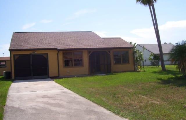 1462 ESCAMBIA CT - 1462 Southeast Escambia Court, Port St. Lucie, FL 34952
