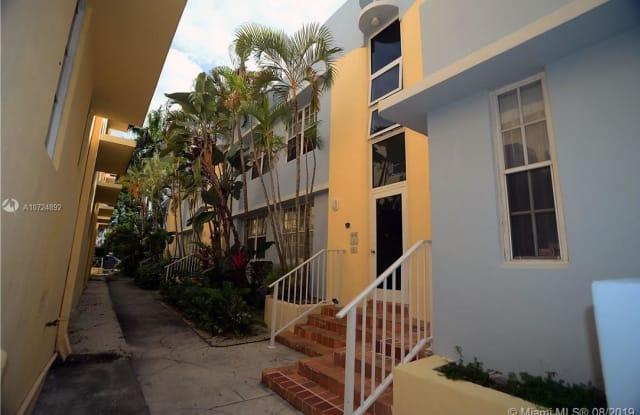 752 Euclid Ave - 752 Euclid Avenue, Miami Beach, FL 33139