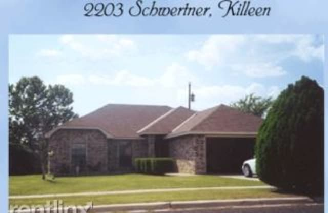 2203 Schwertner Dr - 2203 Schwertner Drive, Killeen, TX 76543