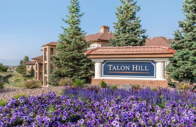Talon Hill - 1640 Peregrine Vista Hts, Colorado Springs, CO 80921