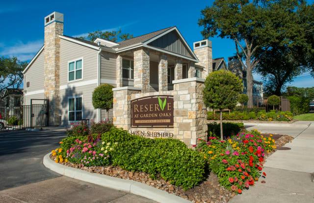 Reserve at Garden Oaks - 3405 N Shepherd Dr, Houston, TX 77018