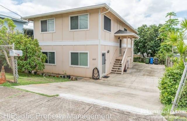 3537 Likini St. - 3537 Likini Street, Honolulu, HI 96818