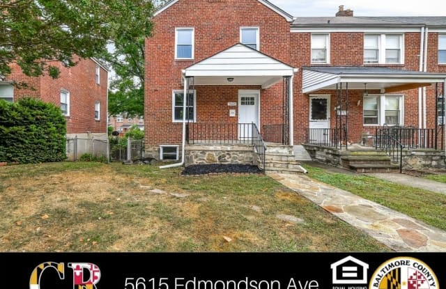 5615 Edmondson Ave - 5615 Edmondson Avenue, Catonsville, MD 21229