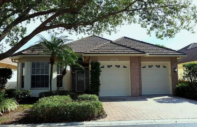878 TURTLE CT - 878 Turtle Court, Pelican Bay, FL 34108