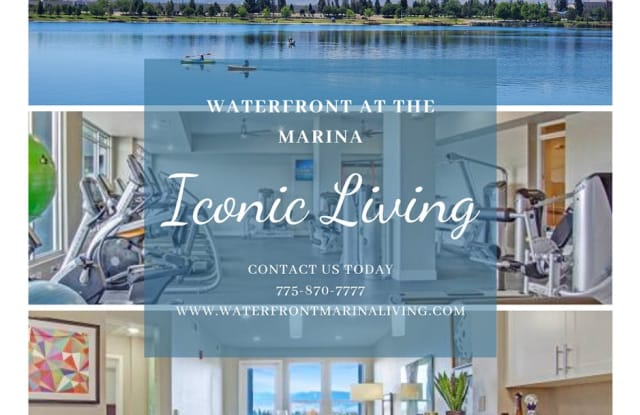 Waterfront at the Marina - 375 Harbour Cove Drive, Sparks, NV 89434
