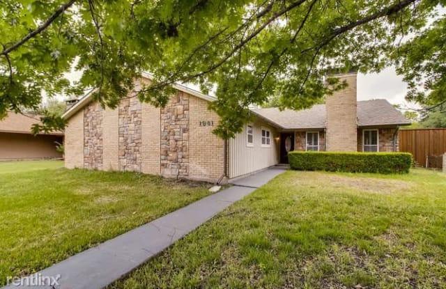 1901 Baylor Dr - 1901 Baylor Drive, Richardson, TX 75081