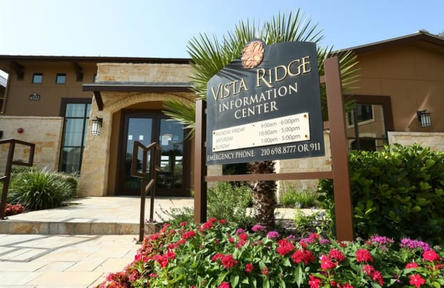 Vista Ridge - 6522 Camp Bullis Rd, San Antonio, TX 78256