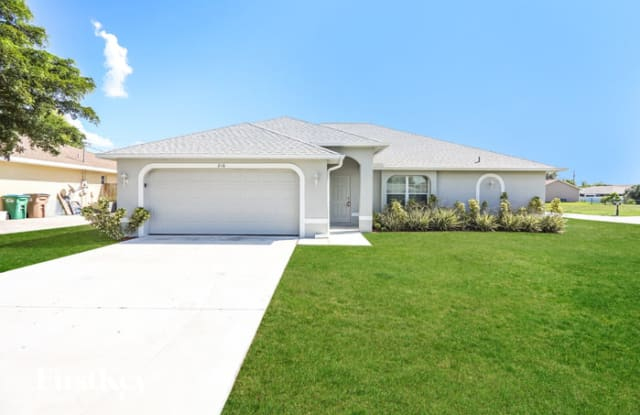 216 Southeast Van Loon Terrace - 216 Southeast Van Loon Terrace, Cape Coral, FL 33990
