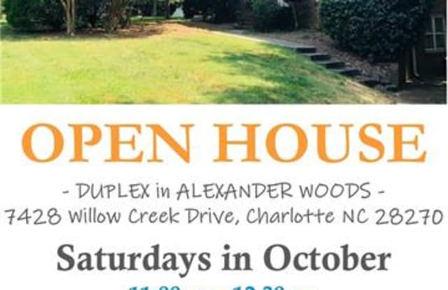 7428 Willow Creek Drive - 7428 Willow Creek Drive, Charlotte, NC 28270