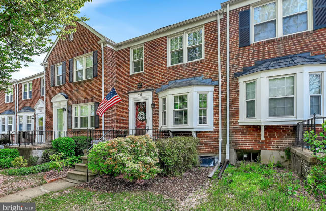 326 STANMORE ROAD - 326 Stanmore Road, Towson, MD 21212
