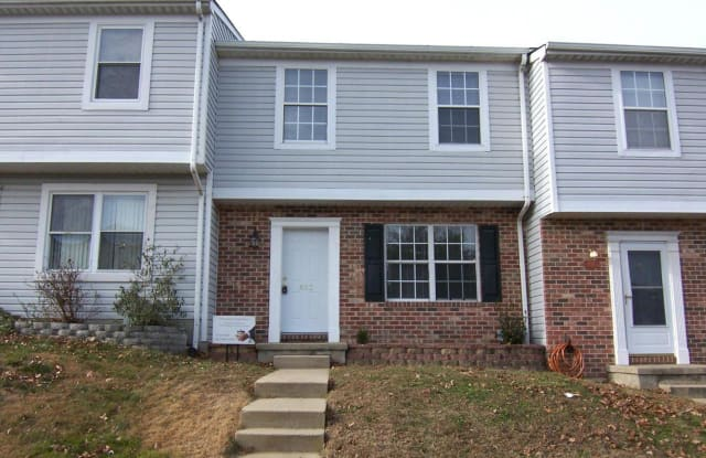 852 SPRING MEADOW COURT - 852 West Spring Meadow Court, Edgewood, MD 21040