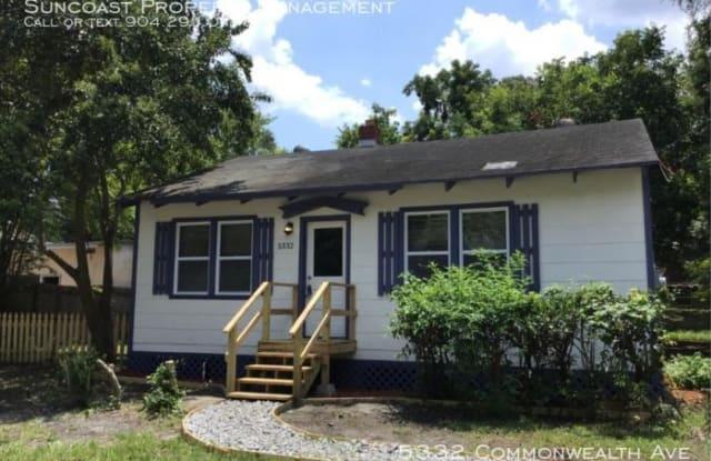 5332 Commonwealth Ave - 5332 Commonwealth Avenue, Jacksonville, FL 32254
