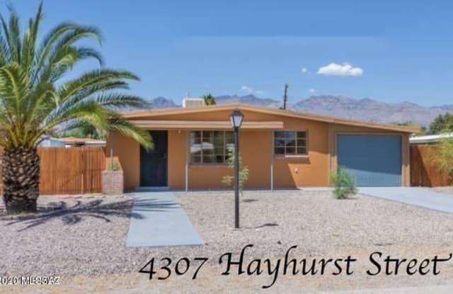 4307 E Hayhurst Street - 4307 East Hayhurst Street, Tucson, AZ 85712