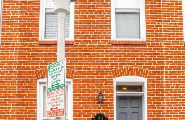 1616 CLARKSON STREET - 1616 Clarkson Street, Baltimore, MD 21230