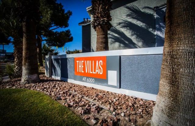 The Villas at 6300 - 6300 W Lake Mead Blvd, Las Vegas, NV 89108