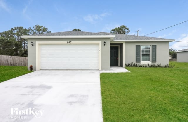 843 SW Andrew Road - 843 SW Andrew Rd, Port St. Lucie, FL 34953