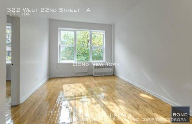 322 West 22nd Street - 322 West 22nd Street, New York, NY 10011