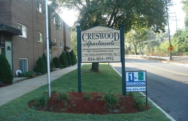 Creswood - 301 Champion Ave, Collingswood, NJ 08107