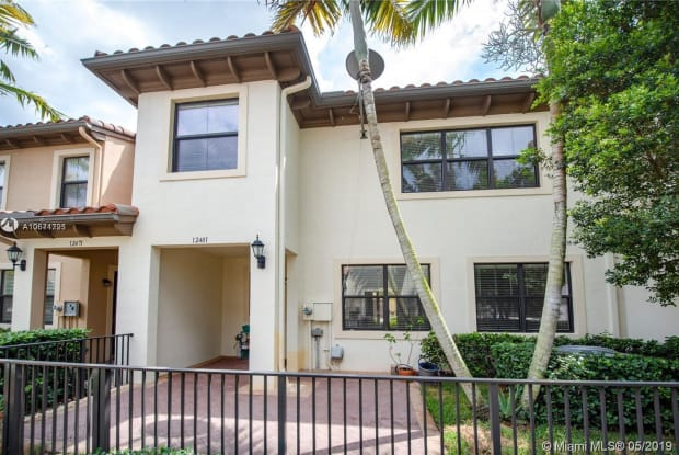 12481 NW 32nd Mnr - 12481 Northwest 32nd Manor, Sunrise, FL 33323