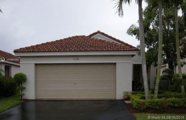 1210 Majesty Ter - 1210 Majesty Terrace, Weston, FL 33327