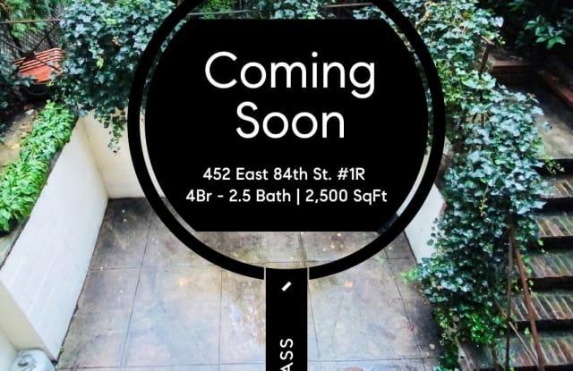 452 East 84th Street - 452 E 84th St, New York, NY 10028