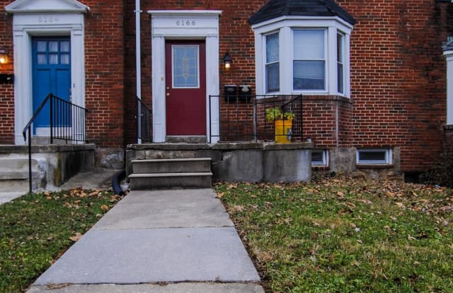 6166 PARKWAY DRIVE - 6166 Parkway Drive, Baltimore, MD 21212