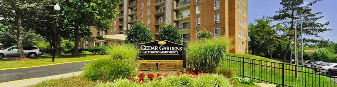 Cedar Gardens & Towers Apartments & Townhomes