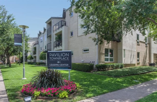 Pavilion Townplace - 7700 Greenway Blvd, Dallas, TX 75209