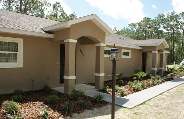 9533 N Travis Drive - 9533 North Travis Drive, Citrus Springs, FL 34434