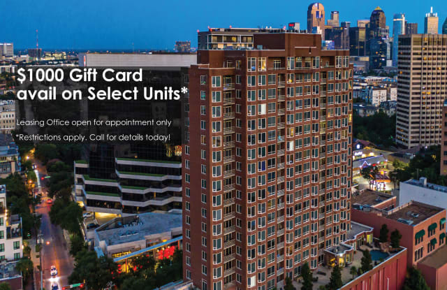 Gables Uptown Tower - 3227 McKinney Ave, Dallas, TX 75204