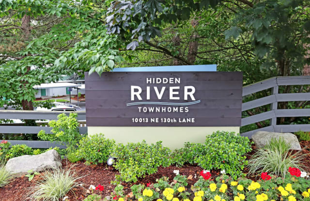 Hidden River Townhomes - 10013 NE 130th Ln, Kirkland, WA 98034