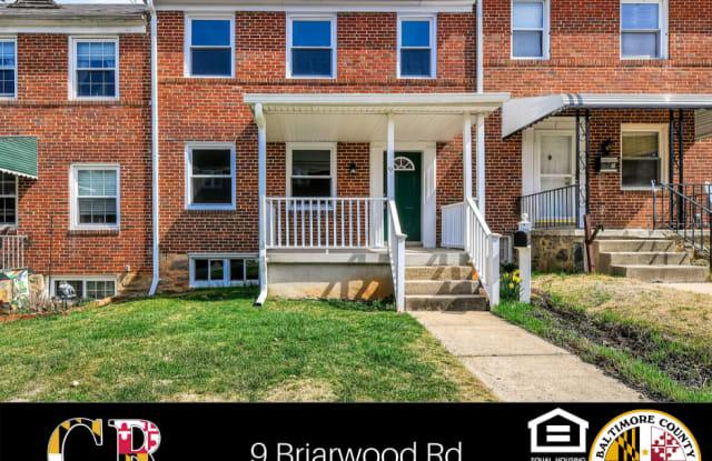 9 Briarwood Rd - 9 Briarwood Road, Catonsville, MD 21228