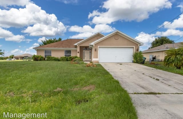 206 NW 25th Place - 206 Northwest 25th Place, Cape Coral, FL 33993