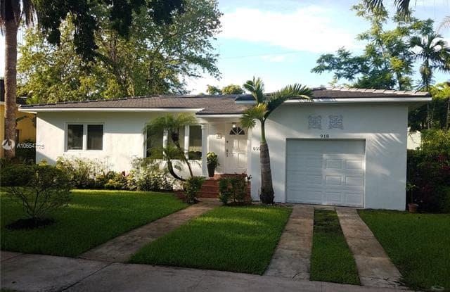918 Ortega Ave - 918 Ortega Avenue, Coral Gables, FL 33134