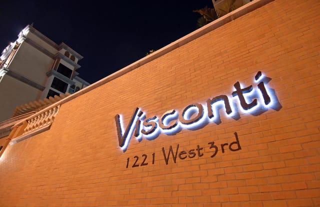 Visconti - 1221 West 3rd Street, Los Angeles, CA 90017