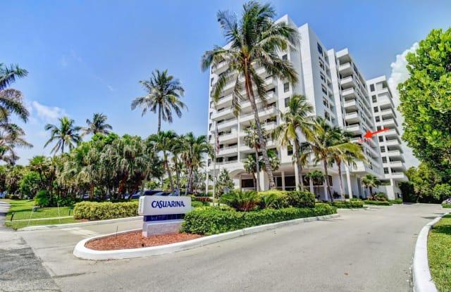 3450 S Ocean Boulevard - 3450 South Ocean Boulevard, Highland Beach, FL 33487