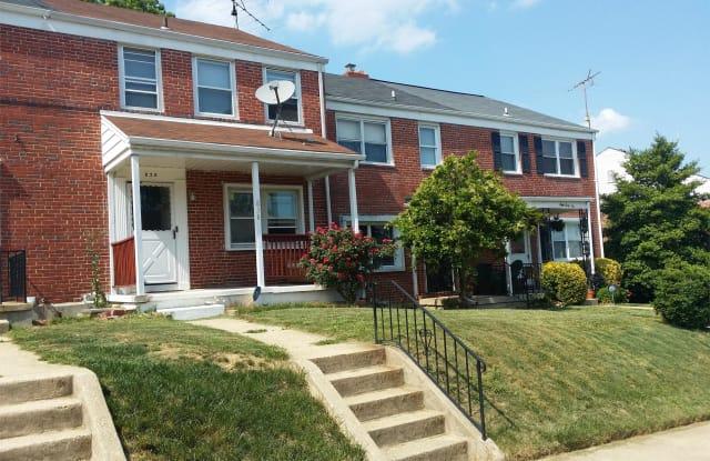 838 Bradhurst Rd - 838 Bradhurst Road, Baltimore, MD 21212