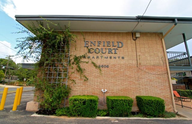 Enfield Court Apartments - 2606 Enfield Rd, Austin, TX 78703