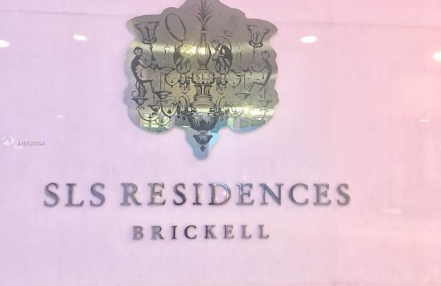SLS Hotel & Residences - 1300 S Miami Ave, Miami, FL 33130