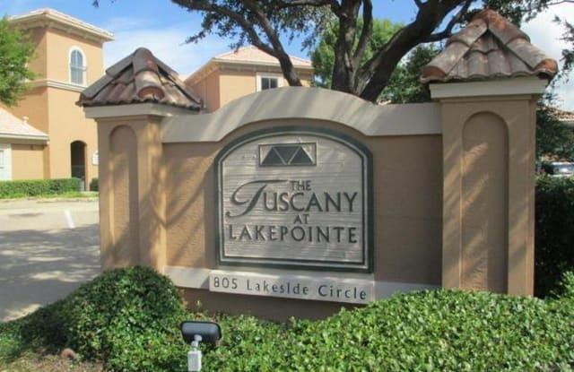 Tuscany at Lakepointe - 805 Lakeside Cir, Lewisville, TX 75057