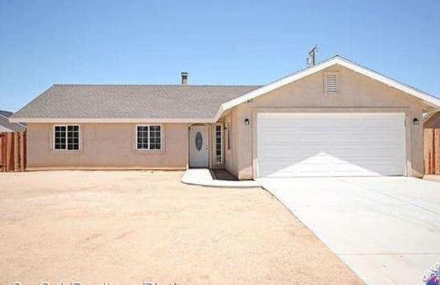 8573 Manzanita Ave - 8573 Manzanita Avenue, California City, CA 93505