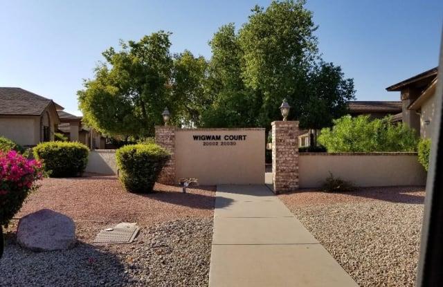 20026 N BROKEN ARROW Drive - 20026 North Broken Arrow Drive, Sun City West, AZ 85375