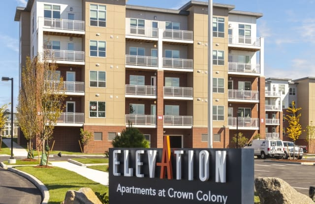 Elevation - Apartments at Crown Colony - 7 Crown Drive, Quincy, MA 02169
