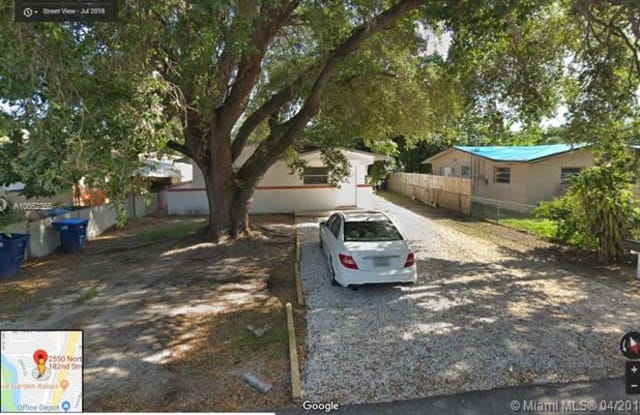 2550 NE 182nd St - 2550 Northeast 182nd Street, Ojus, FL 33160