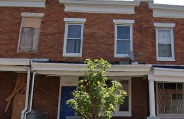 1231 N Linwood Ave - 1231 North Linwood Avenue, Baltimore, MD 21213