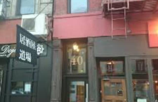 40 Avenue B - 40 Avenue B, New York, NY 10009