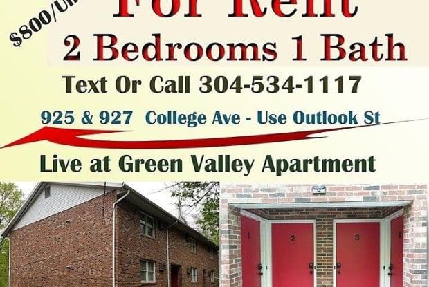 925 College Avenue - 925 College Avenue, Morgantown, WV 26505