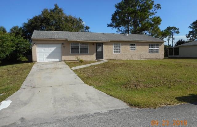 531 Truman Street - 531 Truman Street Southwest, Palm Bay, FL 32908