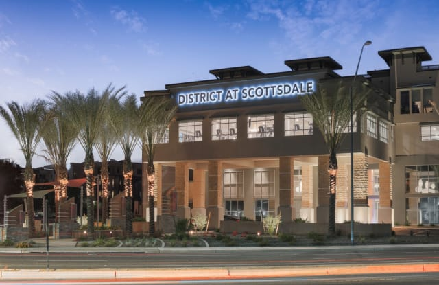 The District at Scottsdale - 15446 North Greenway Hayden Loop, Scottsdale, AZ 85260