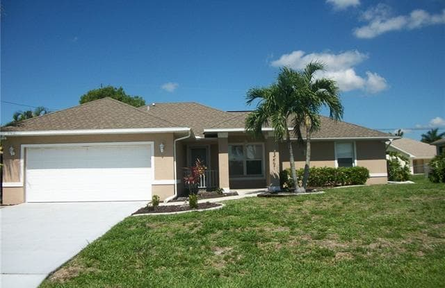 5126 SW 19th PL - 5126 Southwest 19th Place, Cape Coral, FL 33914